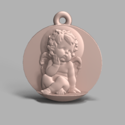 angle 1.0.PNG Download free STL file 3D Angle-1 pendant • 3D print template, poorveshmistry