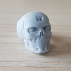 Imprimir en 3D gratis Anillo de Halloween 3, poorveshmistry