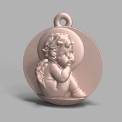 Descargar archivos STL gratis COLGANTE DE ÁNGULO 3D, poorveshmistry