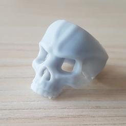 20200430_173950.jpg Download free STL file Halloween ring 5 • 3D printer object, poorveshmistry