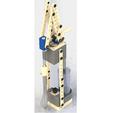 Download free 3D printer designs Kitchen stirring crane, poorveshmistry