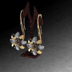 Télécharger modèle 3D gratuit Oreille de fleur, poorveshmistry