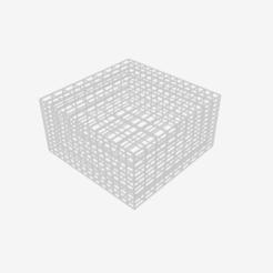 Download free STL files SLS cage: 100x100x50mm, FelicityAnne