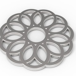 Download free 3D printer model Circle Pendants (more inside!), FelicityAnne
