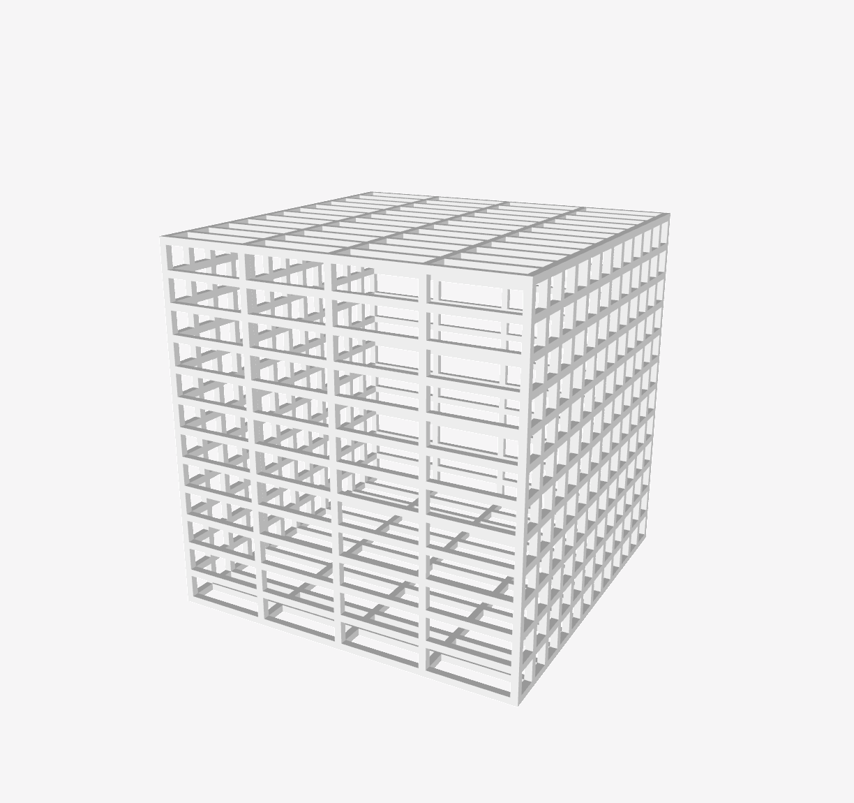 Capture d'écran 2018-08-03 à 11.03.30.png Télécharger fichier STL gratuit Cage SLS, 50x50x50x50mm • Design pour impression 3D, FelicityAnne