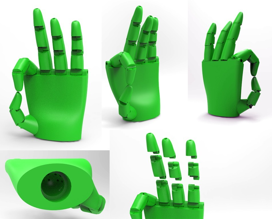 hand_stuff.jpg Download free STL file hand experiment 101 • 3D print template, FelicityAnne