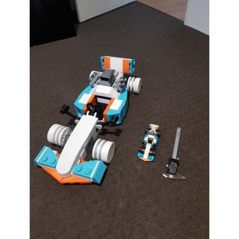 Giant Lego Creator F1 Car