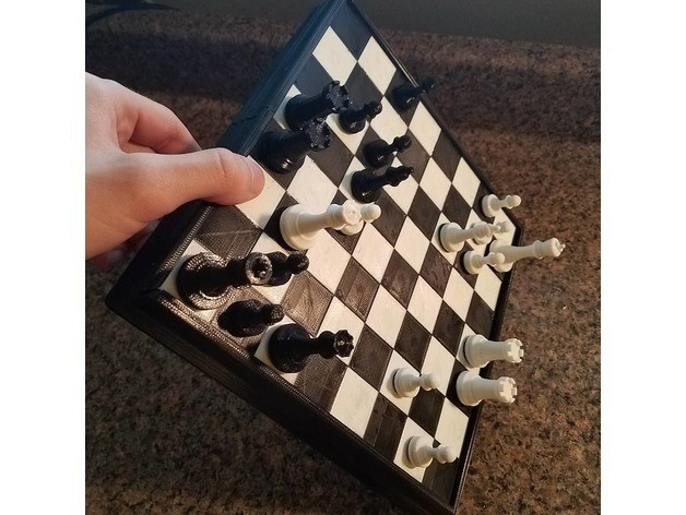 073a7714a63916871070d17a243d0bfb_preview_featured.jpg Download free STL file Magnetic Chess Set • Template to 3D print, juglaz