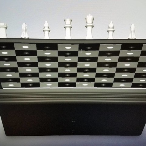 bf967f6a75679130b8bf061c41661be6_preview_featured.jpg Download free STL file Magnetic Chess Set • Template to 3D print, juglaz