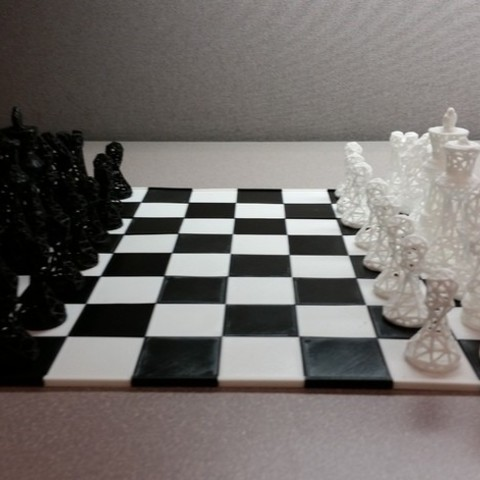 987a994409b4c193ce36dc6c72c03b5e_preview_featured.jpg Download free STL file SNAP fit chess/game board • 3D printer object, juglaz