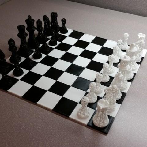 a60a01fb7b48d43890d10b2b770da44b_preview_featured.jpg Download free STL file SNAP fit chess/game board • 3D printer object, juglaz