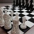Free 3D printer files SNAP fit chess/game board, juglaz