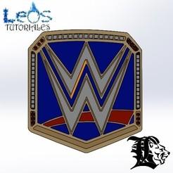 Cinturon WWE CAMPEON- WWE-Daniel Leos - LeosIndustries - LeosTutoriales - Leosdeportes - Daniel Leos.jpg Télécharger fichier STL Titre de champion Wwe • Modèle à imprimer en 3D, ingdanielleos2