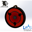 Download STL Sharingan Necklace 3 blades, ingdanielleos2