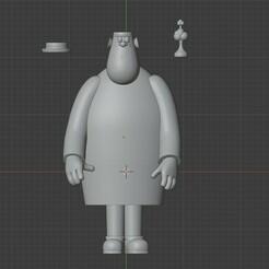 Accesorios.jpeg Télécharger fichier STL Le monstre de Milton • Design pour imprimante 3D, BatsZ