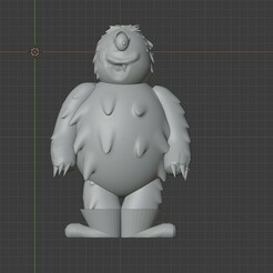 Cuerpo.jpeg Télécharger fichier STL One Eye - Jeebie - Le monstre de Milton • Plan pour impression 3D, BatsZ