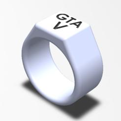 capture bague.PNG Télécharger fichier STL gratuit Bague enfant GTA5 • Modèle pour imprimante 3D, ncarreira26