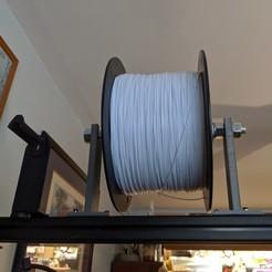 Télécharger fichier impression 3D gratuit Porte-filament de 5 kg à usage intensif, stugpanzer