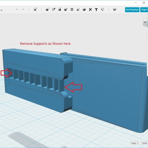 Support_Instructions.jpg Download free STL file Phone Clip • 3D print template, stugpanzer
