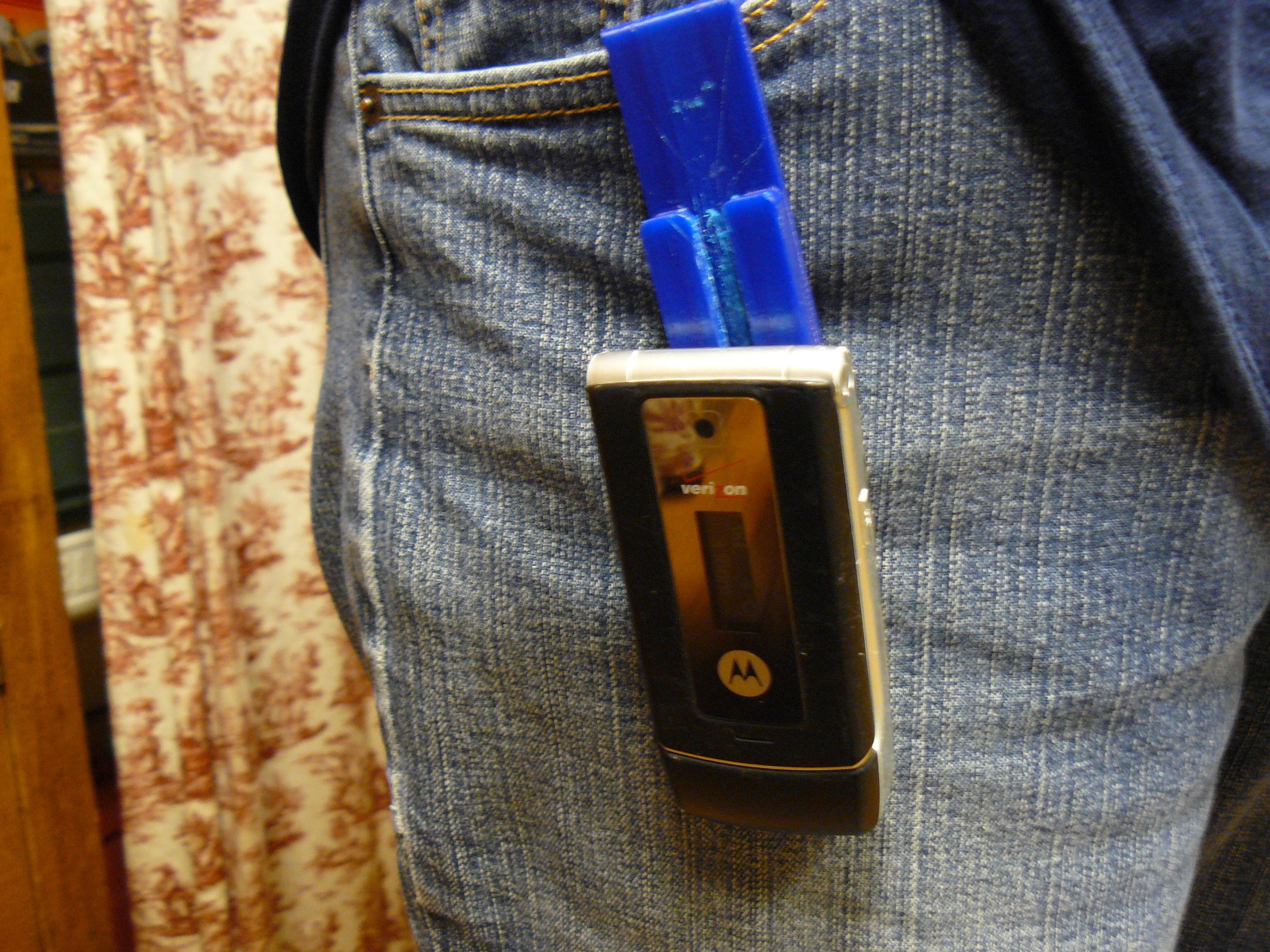 P1080114.JPG Download free STL file Phone Clip • 3D print template, stugpanzer