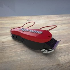 RENDER SUPREME.jpg Download OBJ file CLIPPER WAHL CASE TOP CUSTOM • 3D printing object, aagustingil97