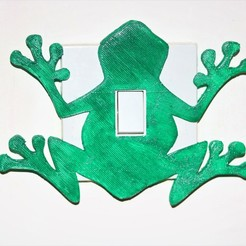Download STL file Frog Light switch cover , M3DPrint