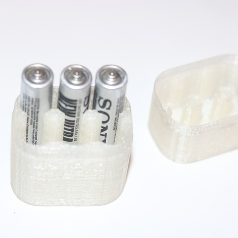 Free STL file 6x AAA Battery Box , M3DPrint