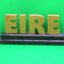 Download free STL files Eire Stand, M3DPrint