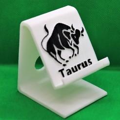 Download 3D printer model Taurus Phone stand, M3DPrint