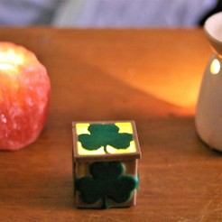 3D printing model Shamrock electric candle box, M3DPrint
