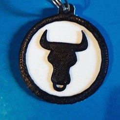 Download free 3D printing files Taurus keychain , M3DPrint