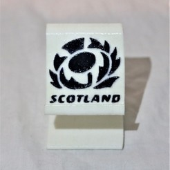Download free STL file Scotland rugby phone stand , M3DPrint