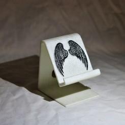 Télécharger fichier imprimante 3D Téléphone à ailes d'ange, M3DPrint