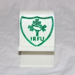 Download free 3D model Irish rugby phone stand , M3DPrint