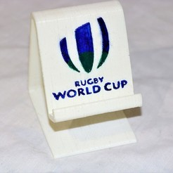 Download free STL file Rugby world cup phone stand , M3DPrint