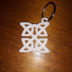 Free 3D printer files Celtic knot Keychain, M3DPrint