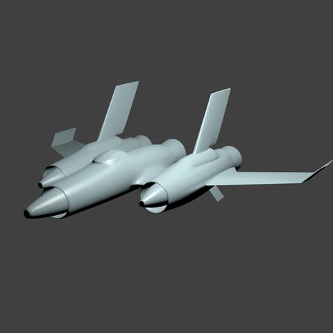 mig Fighter.png Download STL file RA3 mig fighter remodeled • 3D printer model, AlexJ