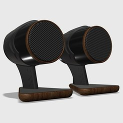 Fichier impression 3D Haut-parleurs stéréo bientôt disponibles !, cosmith48