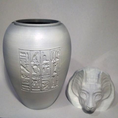 duamutef03.jpg Download STL file Ancient Egyptian Canopic Jars • 3D printer object, voxinaudita