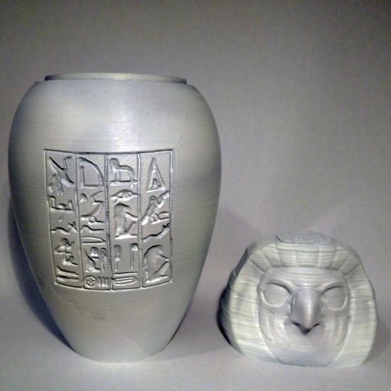 qebehsebuef03.jpg Download STL file Ancient Egyptian Canopic Jars • 3D printer object, voxinaudita