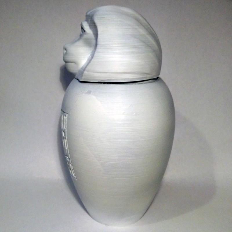 hapi02.jpg Download STL file Ancient Egyptian Canopic Jars • 3D printer object, voxinaudita