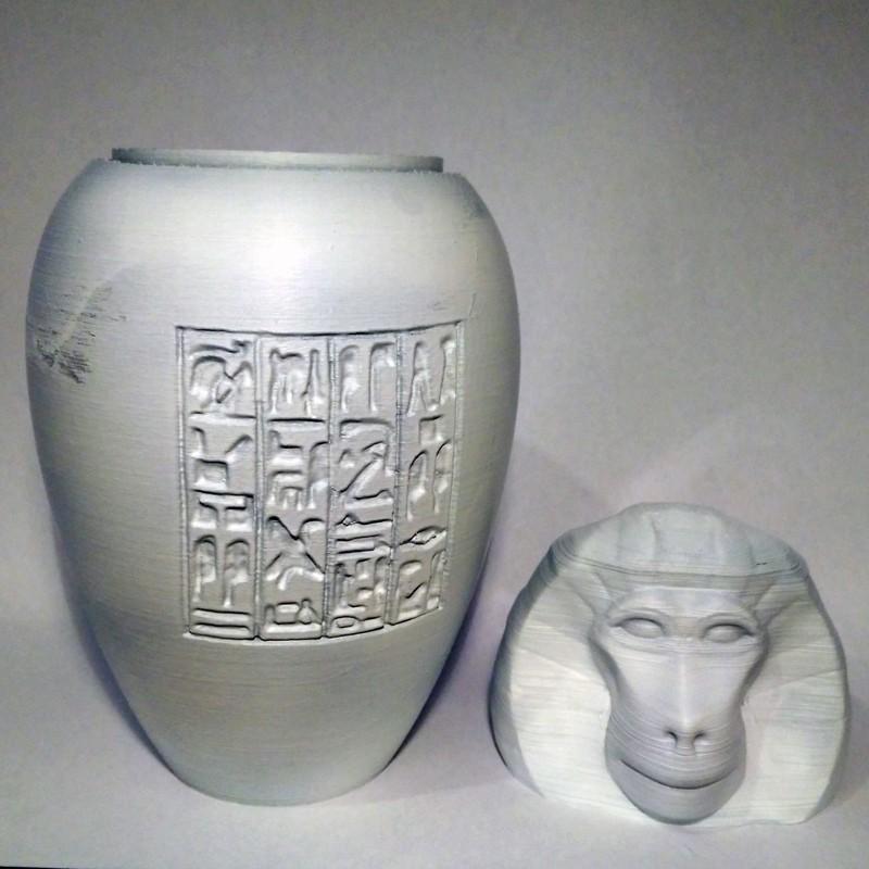 hapi03.jpg Download STL file Ancient Egyptian Canopic Jars • 3D printer object, voxinaudita