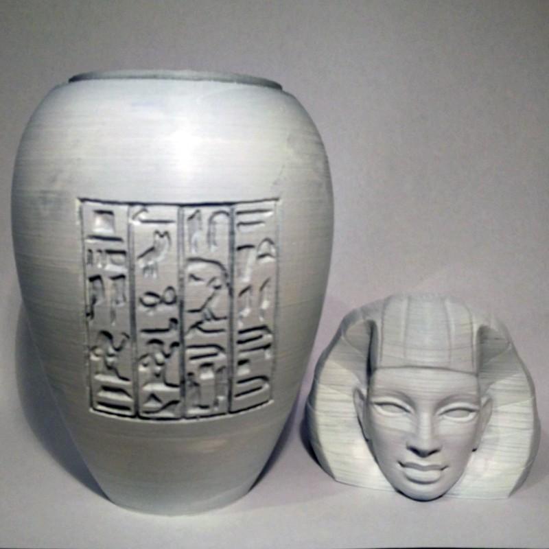 imsety03.jpg Download STL file Ancient Egyptian Canopic Jars • 3D printer object, voxinaudita