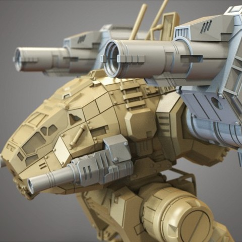 24.jpg Download free STL file Mechwarrior Catapult Assembly Model warfare set • 3D print template, Maverik