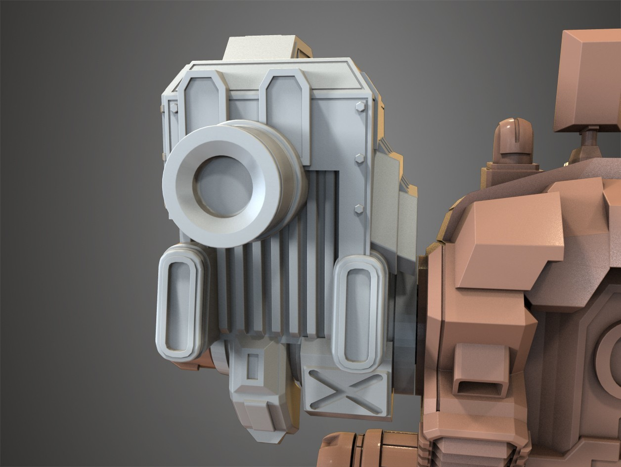 for tinghiverse 5.jpg Download free STL file Mechwarrior Catapult Assembly Model warfare set • 3D print template, Maverik