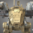 4.png Download free STL file Mechwarrior Catapult Assembly Model warfare set • 3D print template, Maverik