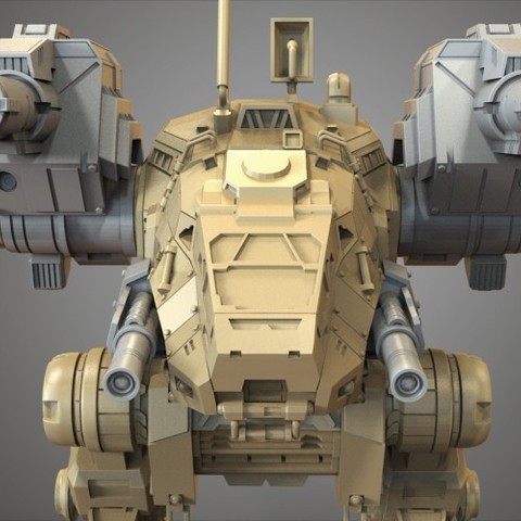 26.jpg Download free STL file Mechwarrior Catapult Assembly Model warfare set • 3D print template, Maverik