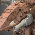 for tinghiverse 4.jpg Download free STL file Mechwarrior Catapult Assembly Model warfare set • 3D print template, Maverik