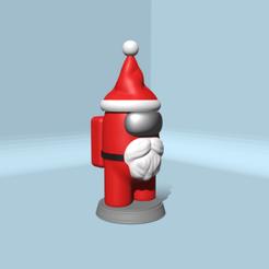 SantaClaus_1.png Download STL file AMONG US SANTA CLAUS • 3D print design, JoseBisneto