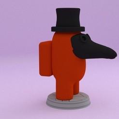 1.jpg Download STL file AMONG US PACK 1 • 3D print template, JoseBisneto